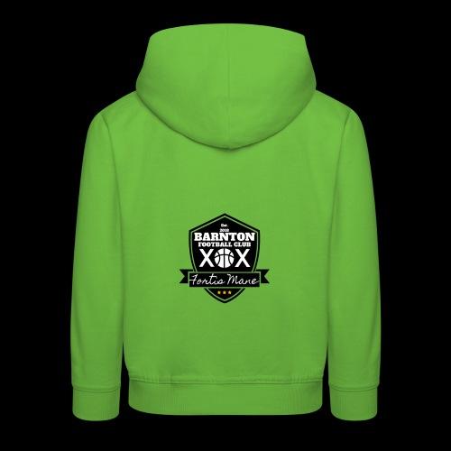 Barnton FC Crest - Kids' Premium Hoodie
