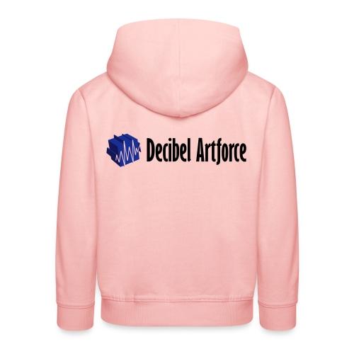 decibelartforce logo 4c vektorisiert - Kinder Premium Hoodie