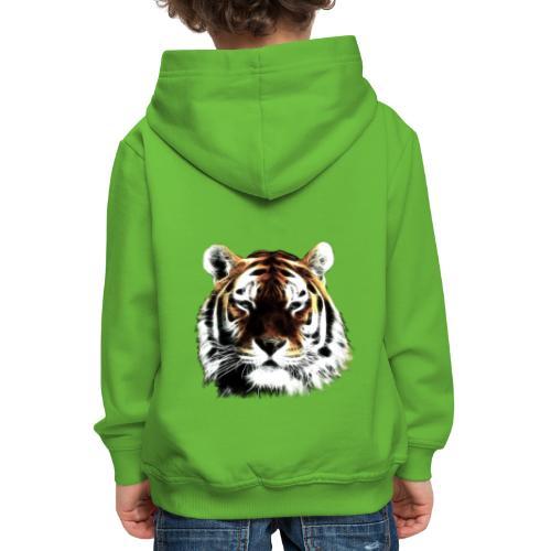 El poderoso tigre. - Sudadera con capucha premium niño