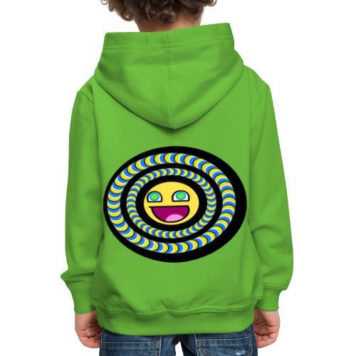 smiley psychédélique 01 - Pull à capuche Premium Enfant