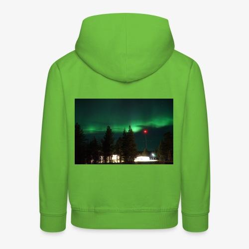 Aurora Boreale - Felpa con cappuccio Premium per bambini