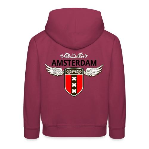 Amsterdam Netherlands - Kinder Premium Hoodie