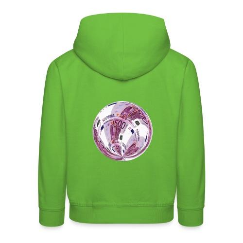 euro 500 schein - Kinder Premium Hoodie