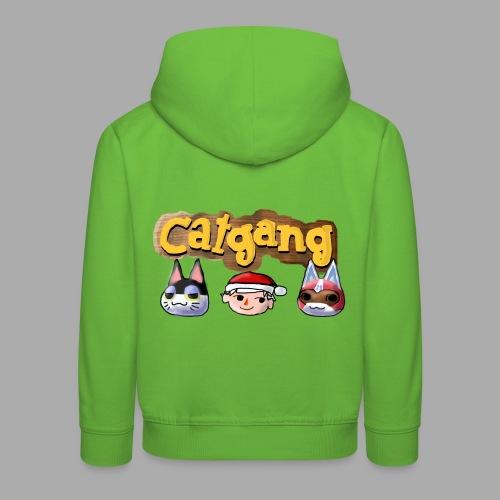 Animal Crossing CatGang - Kinder Premium Hoodie