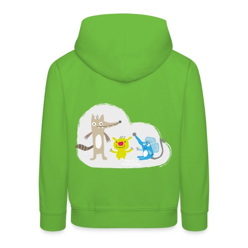 Froehliche Tierchen - Kinder Premium Hoodie
