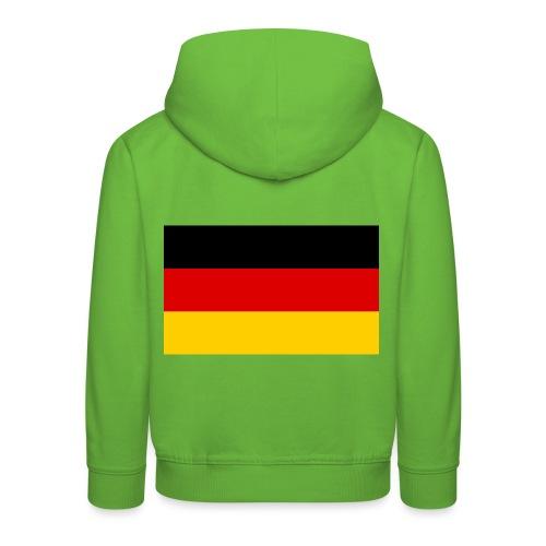2000px Flag of Germany svg - Kinder Premium Hoodie