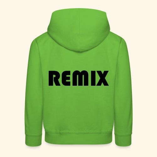 Remix - Sudadera con capucha premium niño