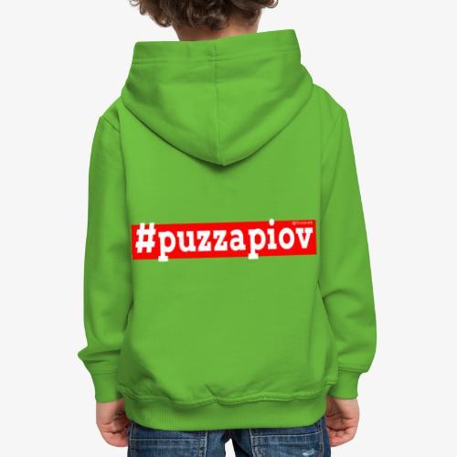 Puzza Piov - Felpa con cappuccio Premium per bambini