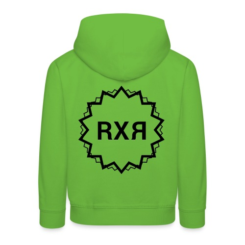 RXR (RAXAR) - Felpa con cappuccio Premium per bambini