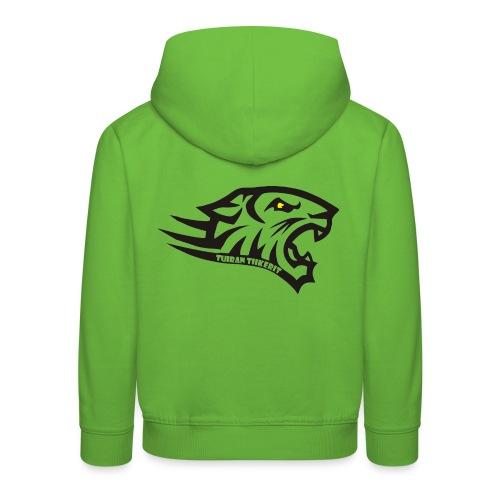 Tuiran Tiikerit tuoteperhe, pieni logo - Lasten premium huppari