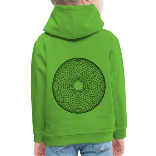 Torus Yantra - Hypnotic Eye - Premium hættetrøje til børn
