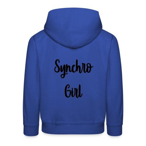 Synchro Girl - Lasten premium huppari