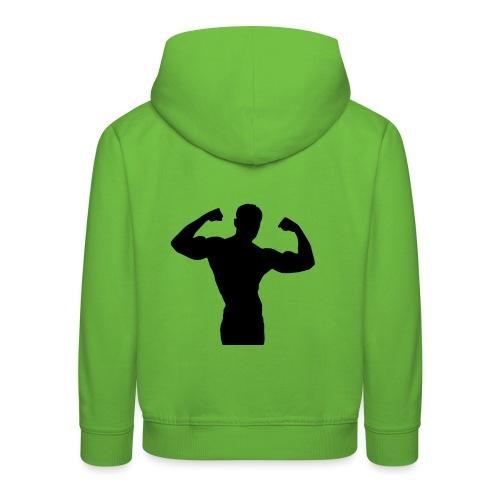 Musculation - Pull à capuche Premium Enfant