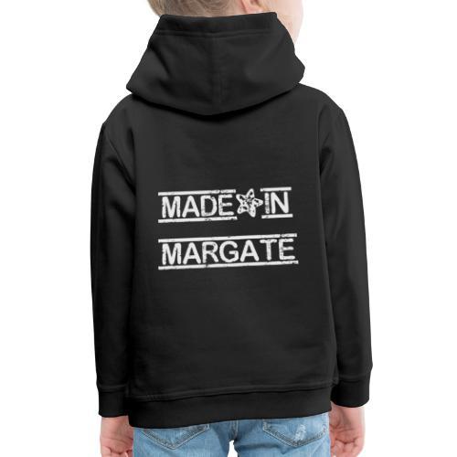 Made in Margate - White - Kids' Premium Hoodie