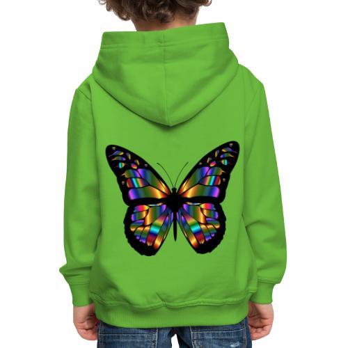 papillon design - Pull à capuche Premium Enfant