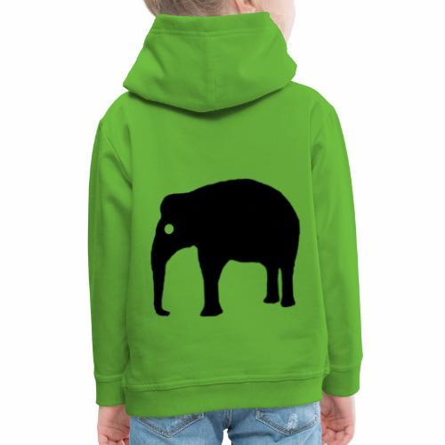 Elefant Logo - Kinder Premium Hoodie