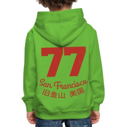 77 san francisco usa - Kinder Premium Hoodie