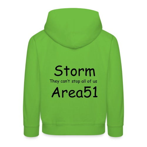 Storm Area 51 - Kids' Premium Hoodie