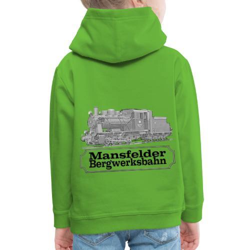 mansfelder bergwerksbahn dampflok 2 - Kinder Premium Hoodie