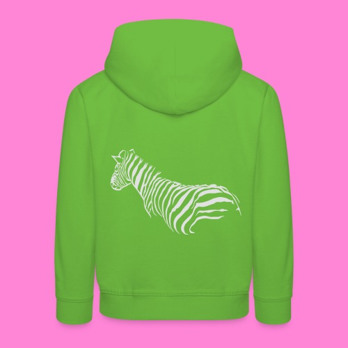 zebra1 - Kinderen trui Premium met capuchon