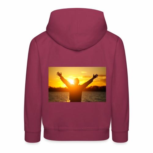 Camiseta Libre - Sudadera con capucha premium niño