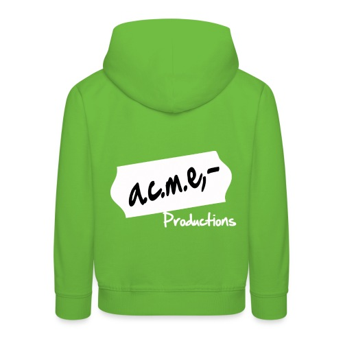 acmeproductionswhite - Kinder Premium Hoodie