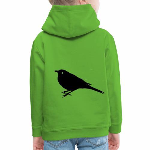 Amsel Logo - Kinder Premium Hoodie