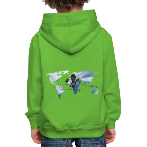 One World One Promise - Kinder Premium Hoodie