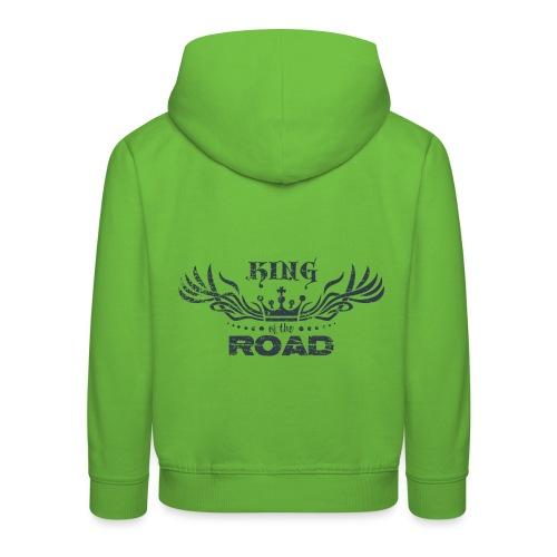 King of the road dark - Kinderen trui Premium met capuchon