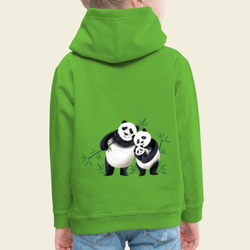 Pandafamilie Baby - Kinder Premium Hoodie