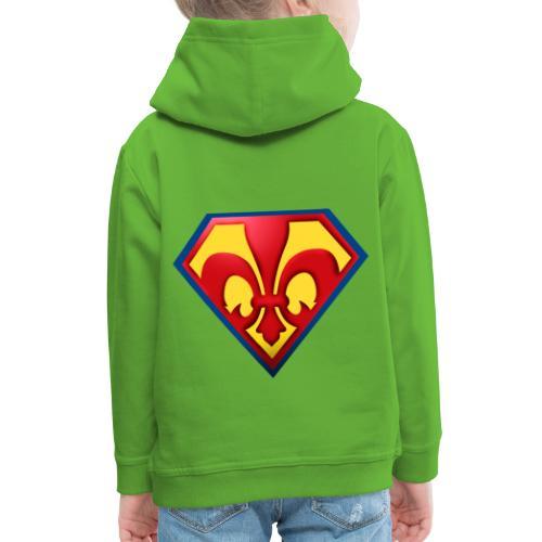 Fabulous Scout - Lilie im Wappen - Kinder Premium Hoodie