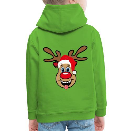 Team Rudolph Rudi Reindeer - Kinder Premium Hoodie