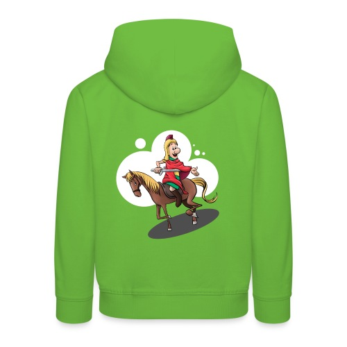 Sankt Martin auf dem Pferd - Kinder Premium Hoodie
