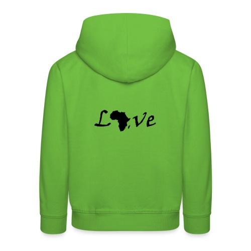 Love Africa - Kinder Premium Hoodie