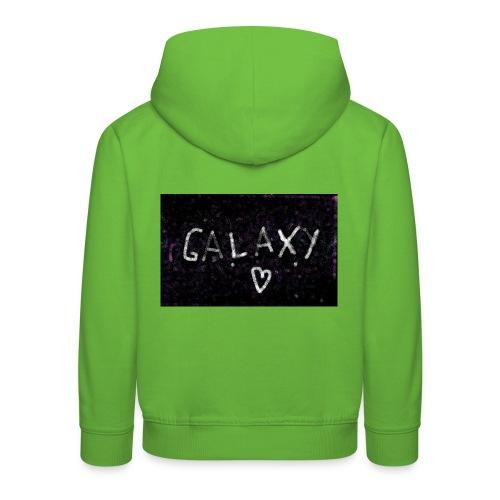 galaxy - Kinder Premium Hoodie