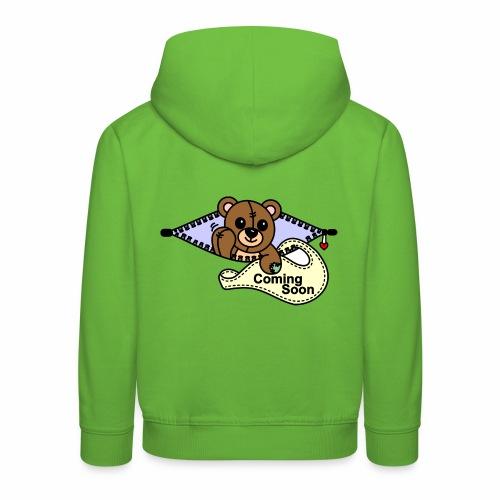 Bärchen Coming Soon - Kinder Premium Hoodie