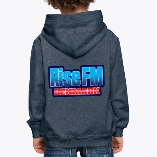 Rise FM Denmark Text Only Logo - Kids' Premium Hoodie
