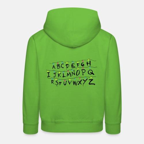 Stranger Things Alphabet Women's T-Shirts - Kids' Premium Hoodie