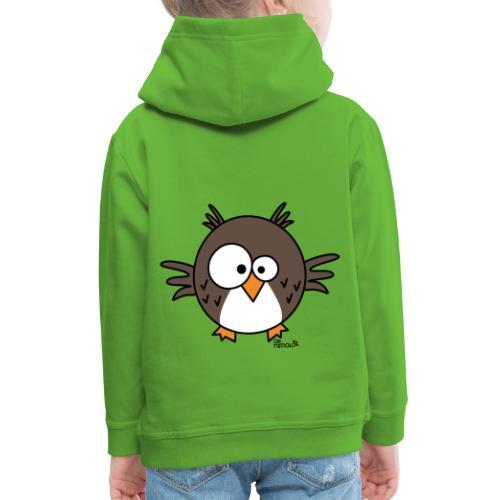 Hibou - Pull à capuche Premium Enfant
