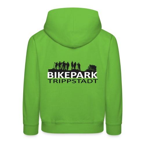 Bikepark staff in schwarz - Kinder Premium Hoodie