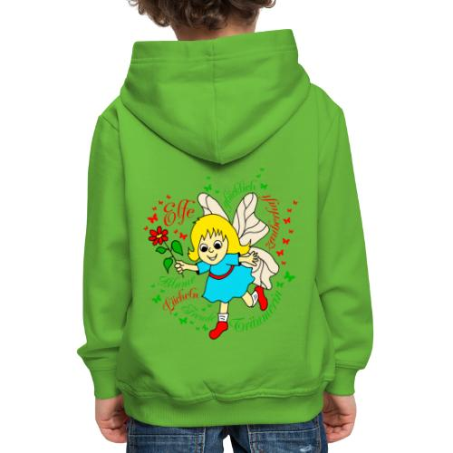 Elfe Traeumer in Rot - Kinder Premium Hoodie