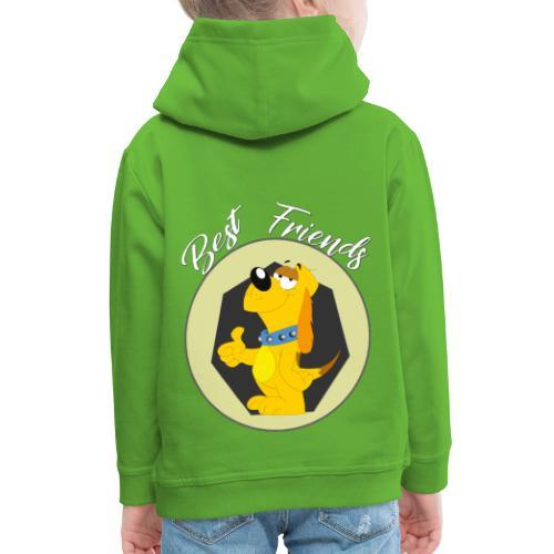 Best friends - Sudadera con capucha premium niño