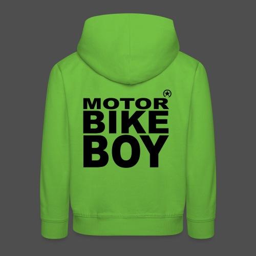 Motorbike Boy - Kids' Premium Hoodie