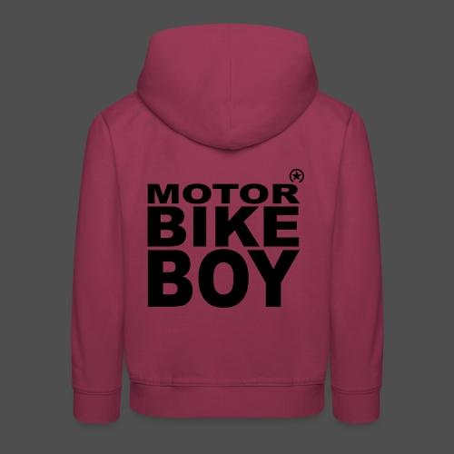 Motorbike Boy - Bluza dziecięca z kapturem Premium