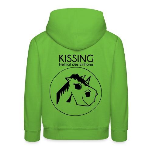 Kissing-Heimat des Einhorns - Kids' Premium Hoodie