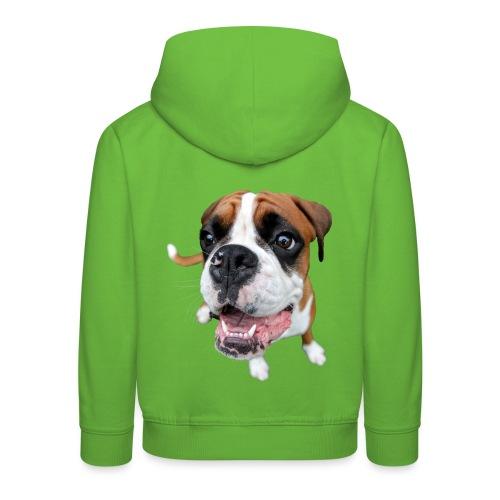 Boxer Rex dog - Kids' Premium Hoodie