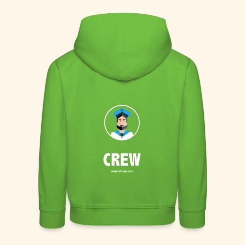 SeaProof Crew - Kinder Premium Hoodie