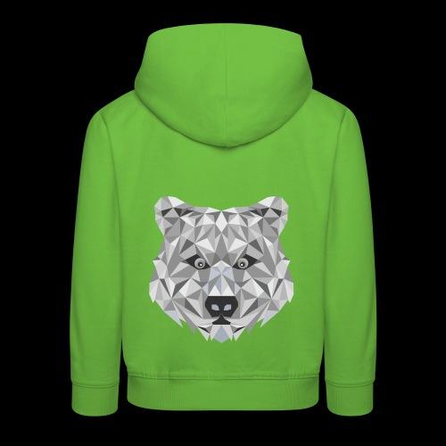 Bear-ish - Bluza dziecięca z kapturem Premium