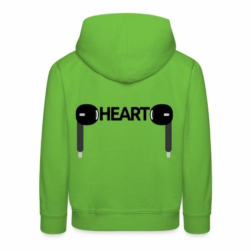 ListenToYourHeart - Bluza dziecięca z kapturem Premium