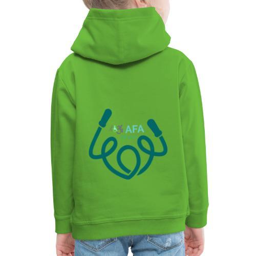 AFAfitness - Felpa con cappuccio Premium per bambini